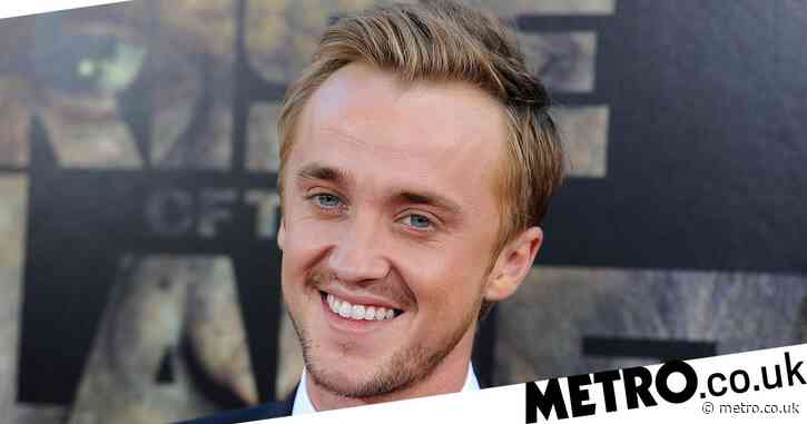 Tom Felton rocks Wu-Tang hoodie in adorable Harry Potter throwback