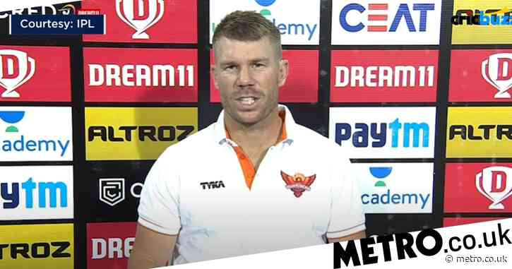 David Warner slams 'unacceptable' Sunrisers Hyderabad batting after IPL defeat to Kolkata Knight Riders