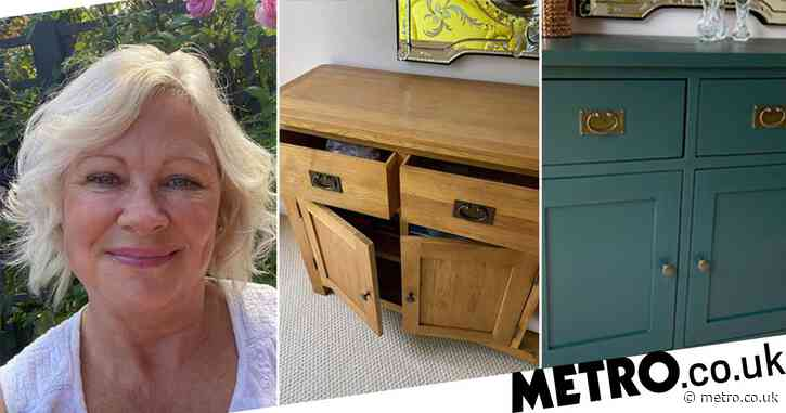 Creative grandma transforms furniture with paint and it only cost her £25
