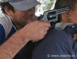 En Rocafuerte un hombre fue asaltado por 5 antisociales - El Diario Ecuador
