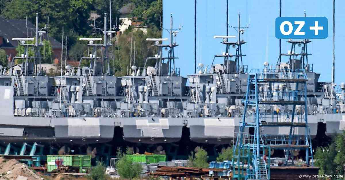 Auf der Peene-Werft Wolgast: Plötzlich nur noch drei Küstenwachboote da - Ostsee Zeitung