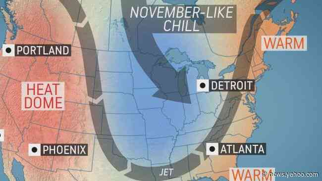 Coldest air yet this season to be unleashed across midwestern US as October begins