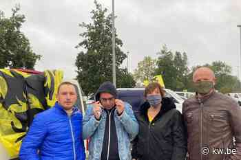 Grote opkomst in Kortrijk voor protestrit Vlaams Belang - Krant van Westvlaanderen