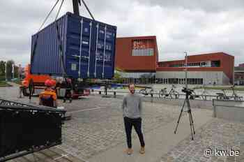 Opening van coronaproof evenementenplein in Kortrijk geannuleerd door storm Odette - Krant van Westvlaanderen