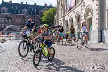 Bijna 2.400 deelnemers voor Autovrije Zondag XL in Kortrijk - Krant van Westvlaanderen