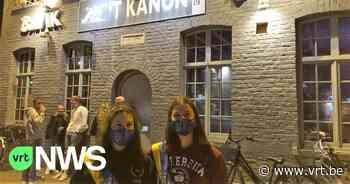 """Drukke studentenavond in Kortrijk: """"Soms is het wat té druk"""" - VRT NWS"""