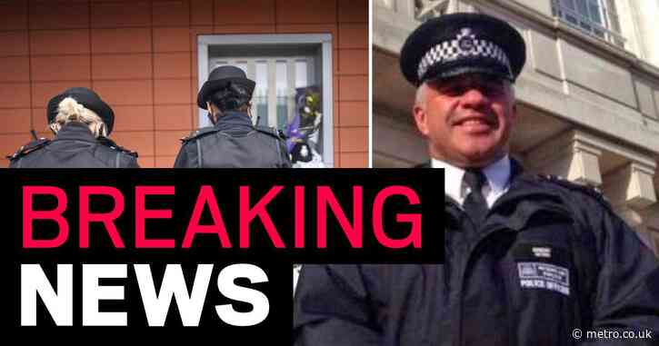 Man arrested 'for supplying firearm' after police officer shot dead at station