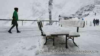 Dauerregen macht kurze Pause doch es bleibt kalt - erster Schnee in den Bergen gefallen