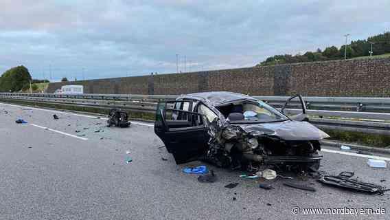 Kollision mit Lkw: 31-Jähriger stirbt bei Unfall auf A9 - Nordbayern.de