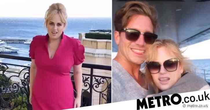 Rebel Wilson cosies up to new man Jacob Busch on yacht ride