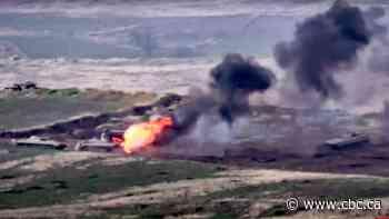 2 killed as fighting erupts between Armenia, Azerbaijan in disputed area