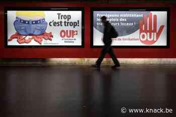 Zwitsers wijzen beperking vrij verkeer van personen met EU af
