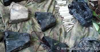Hallan laboratorio para elaboración de explosivos en Timbiquí (Cauca) - http://www.radionacional.co/