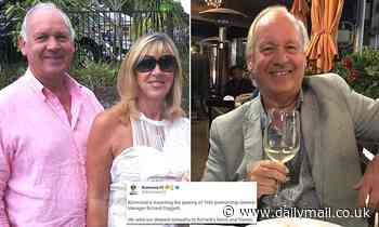 Richard Doggett dies in a freak accident on his macadamia farm - leaving footy community in shock