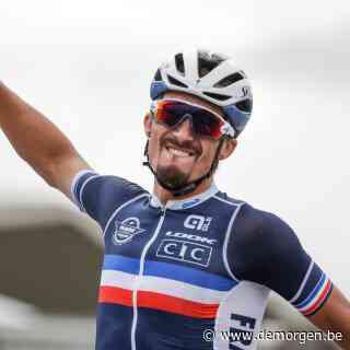 Alaphilippe kroont zich tot wereldkampioen, Van Aert pakt opnieuw zilver