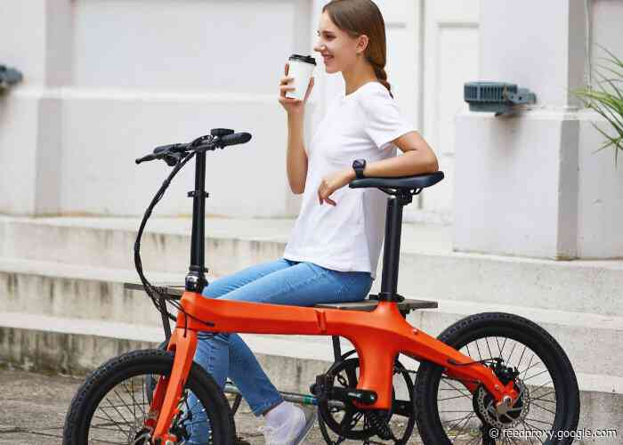 Eole ultra-light carbon fiber folding electric bike