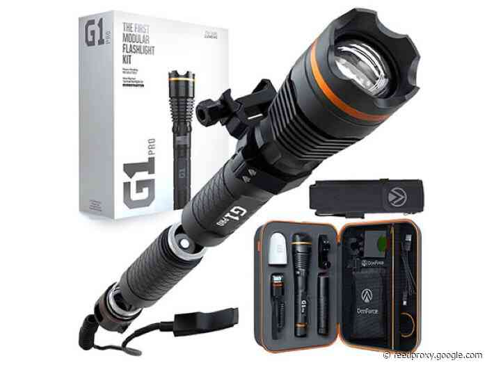 Save 30% on the DanForce G1: The World's First Modular Flashlight Kit