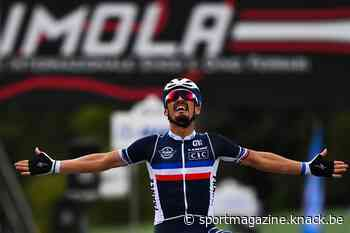Julian Alaphilippe wint WK wielrennen, Wout van Aert pakt zilver