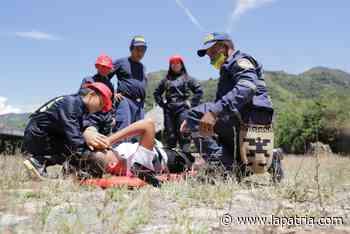 Niños y jóvenes integran semillero indígena de bomberos forestales de Portachuelo (Riosucio) - La Patria.com