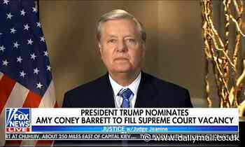 Lindsey Graham: Judiciary Committee will approve Amy Coney Barrett's nomination October 22