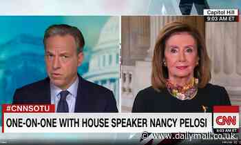 Pelosi claims Trump 'hurrying' SCOTUS confirmation so court can strike down Obamacare
