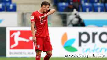 Bayern Munich lose for first time since January as Hoffenheim snaps 23-game winning streak