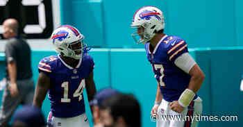 N.F.L. Week 3: Is the Buffalo Bills' Hot Start Legit?