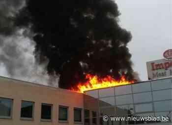 Zware brand bij vleesverwerkingsbedrijf in Lievegem
