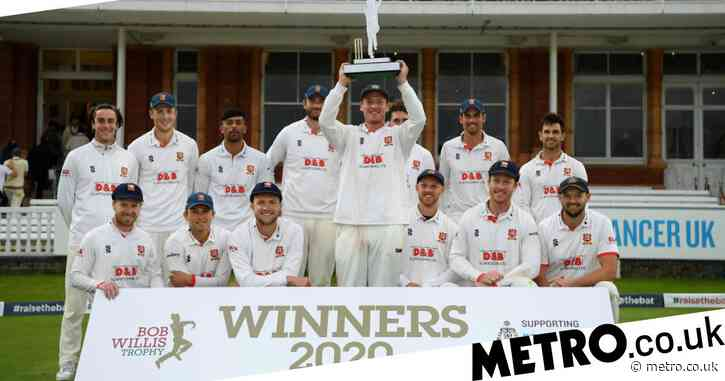 England legend Alastair Cook stars as Essex beat Somerset to win Bob Willis Trophy