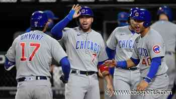 Cubs clinch NL Central; Brewers, Cardinals and Reds coming down to last day of MLB regular season
