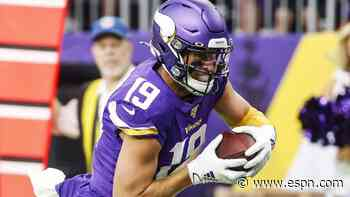 Vikings offense awakens with Adam Thielen TD catch, Dalvin Cook 39-yard TD run