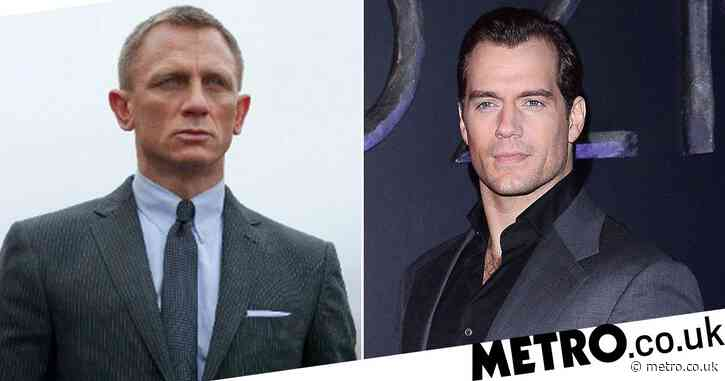 Henry Cavill is eyeing up James Bond role and reveals he'd 'love' to take over 007 from Daniel Craig
