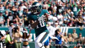 Dallas Goedert ruled out, DeSean Jackson questionable to return as Eagles thin on weapons yet again