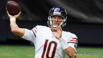 Bears bench Trubisky for Foles against Falcons