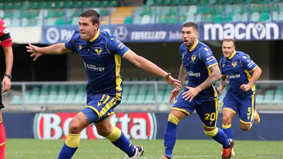 Il primo gol in A di Favilli stende l'Udinese: Verona primo a punteggio pieno - La Gazzetta dello Sport
