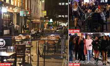 London's busy Soho is already deserted at end of first coronavirus curfew weekend