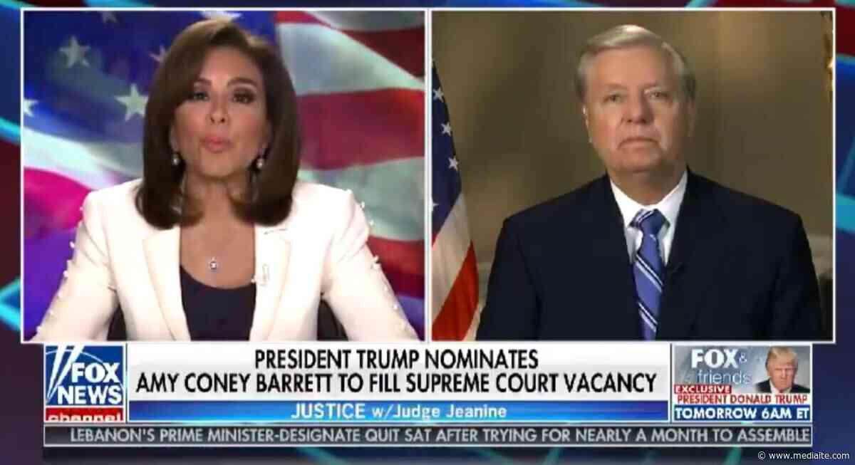 Lindsey Graham Reacts To Trump's Amy Coney Barrett SCOTUS Nomination: Hoping to 'Get Her Out Of Committee By October 26th' - Mediaite