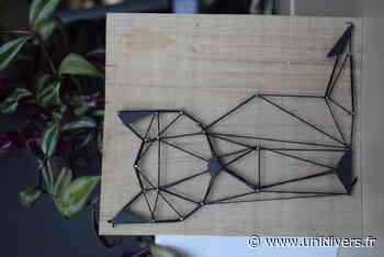 Renard en string art Maison des forêts de Saint-Etienne-du-Rouvray samedi 17 octobre 2020 - Unidivers