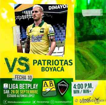 Bucaramanga 1 vs 1 Patriotas por la Liga BetPlay de Colombia | Bucaramanga vs Patriotas | Bucaramanga vs P ... - Futbolete