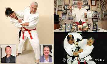 JANE FRYER: The judo master who made me the fall guy... aged 97!