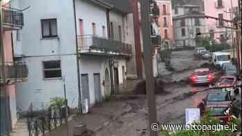 Violento acquazzone, fiumi straripati e strade allagate - Ottopagine