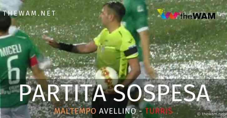 Maltempo, Partenio allagato: sospesa la partita fra Avellino e Turris - The Wam.net