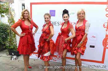 Münchner Promi-Damen feiern Ladies Red Wiesn in Pullach - Abendzeitung