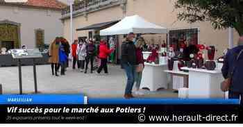Marseillan - VIDEO - Vif succès pour le Marché aux Potiers ! - Hérault-Direct