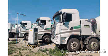 SANY battery electric truck mixers: when traditional concrete mixing goes green
