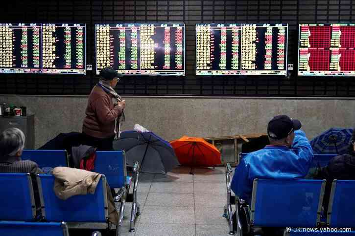 Chinese stocks underpin Asia; markets wary of virus spike, U.S. presidential debate