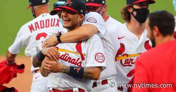 After a Halt, Then a Sprint, the Cardinals Land in the Playoffs Again