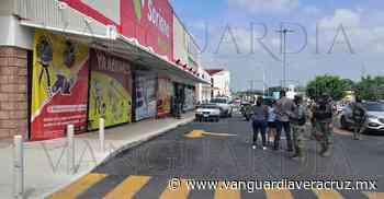 ¡Baleado en Soriana de Oluta! - Vanguardia de Veracruz