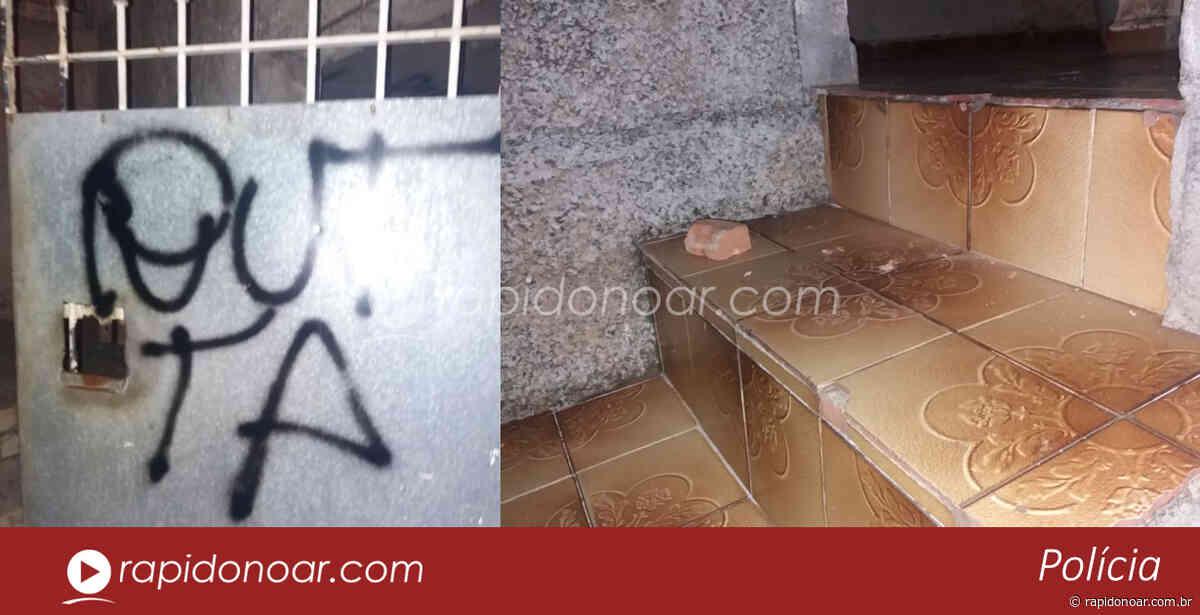 Em Limeira, homem invade casa de mulher, atira tijolo, faz ameaça e picha portão - Rápido no Ar