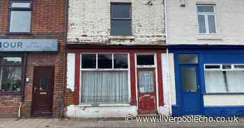 Inside derelict old shop up for auction with bargain price tag